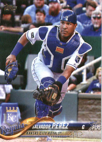 Photo of 2018 Topps #290 Salvador Perez