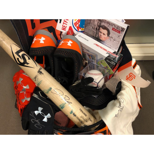 "Photo of Giants Wives Auction: Joe Panik ""Favorite Things"" Basket"