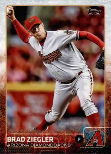 Photo of 2015 Topps #528 Brad Ziegler