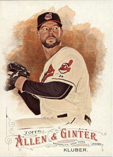 Photo of 2016 Topps Allen and Ginter #297 Corey Kluber