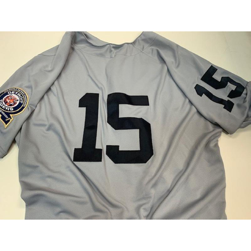Photo of Team-Issued 1968 50th Anniversary Jersey: Ron Gardenhire