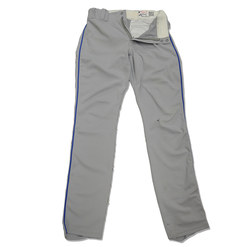 Photo of Amed Rosario #1 - Team Issued Road Grey Pants - 2017 Season