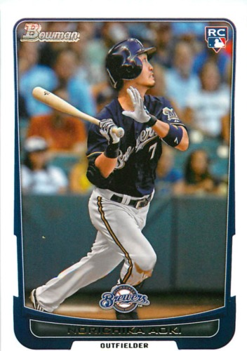 Photo of 2012 Bowman Draft #29 Norichika Aoki RC