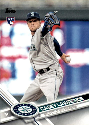 Photo of 2017 Topps Update #US89 Casey Lawrence RC
