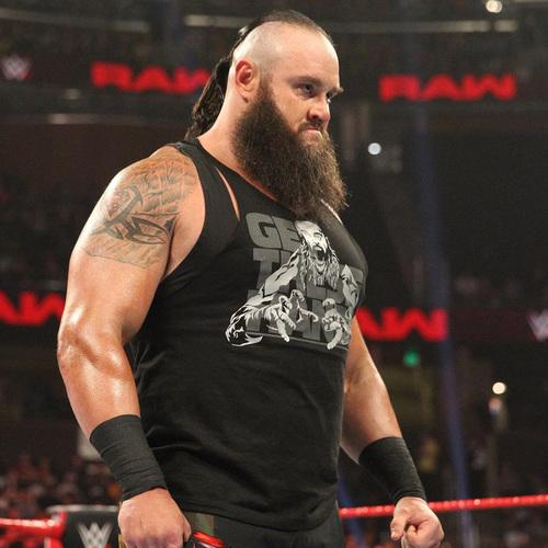 Braun Strowman WORN & SIGNED T-Shirt (RAW - 01/07/19)