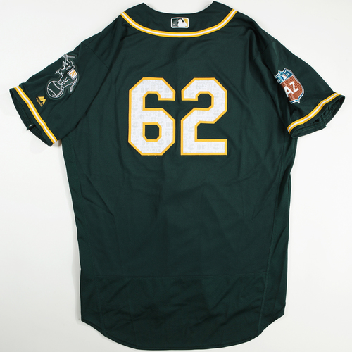 2016  Spring Training -  Game-Used Jersey - Sean Doolittle (A's) - Size 48
