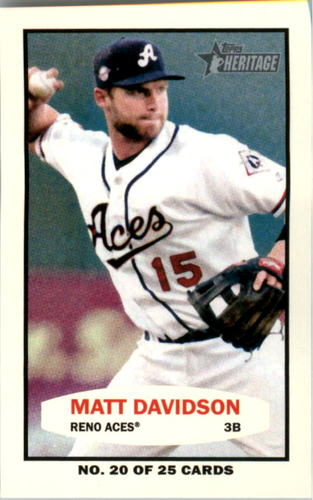 Photo of 2013 Topps Heritage Minors 1964 Bazooka #MD Matt Davidson