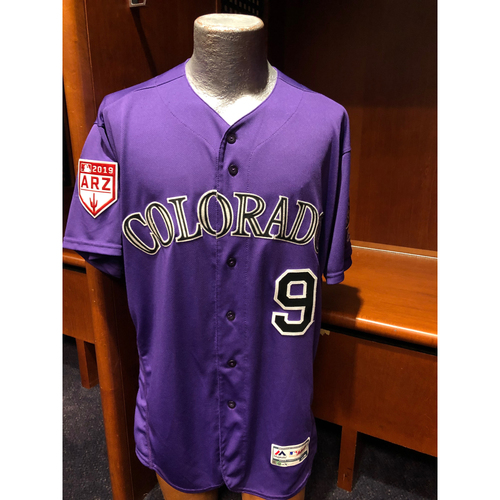Photo of Colorado Rockies Game-Used Daniel Murphy Spring Training Jersey - February 24, 2019