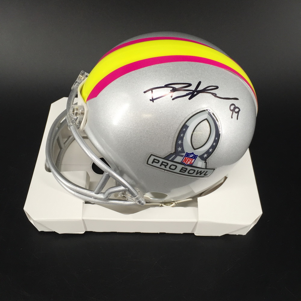 NFL - 49ers DeForest Buckner Signed Pro Bowl 2019 Mini Helmet