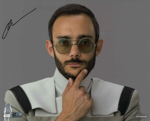 Omid Abtahi As Dr. Pershing 8X10 AUTOGRAPHED IN 'Black' INK PHOTO