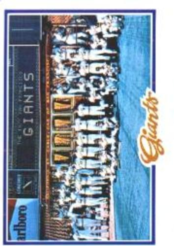 Photo of 1978 Topps #82 San Francisco Giants CL