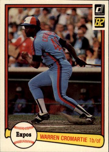 Photo of 1982 Donruss #340 Warren Cromartie