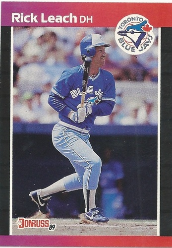 Photo of 1989 Donruss #638 Rick Leach