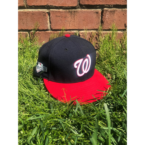 Photo of Jeremy Hellickson Team-Issued Cap with Postseason Patch