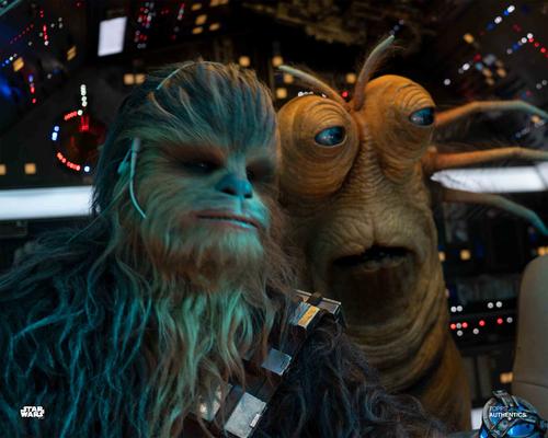 Chewbacca and Klaud