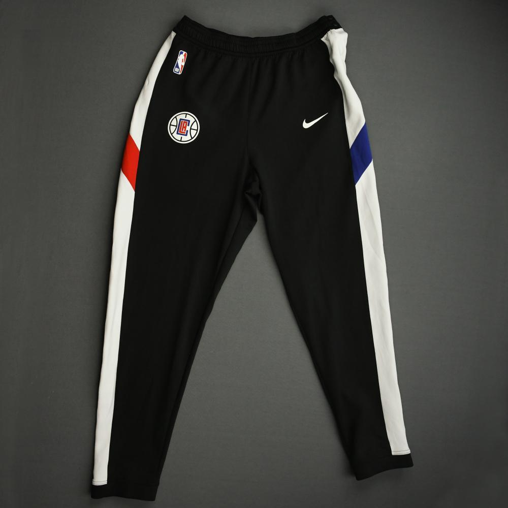 Derrick Walton Jr. - Los Angeles Clippers - Game-Issued Earned Edition Game Theater Pants - 2019-20 NBA Season