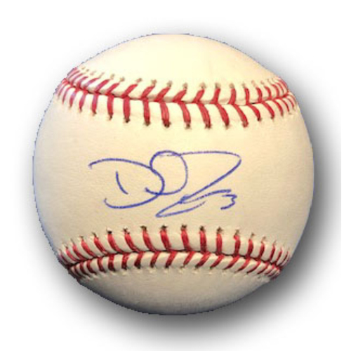 Photo of David Ross Autographed Baseball