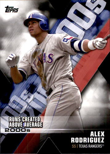 Photo of 2020 Topps Decade of Dominance #DOD13 Alex Rodriguez