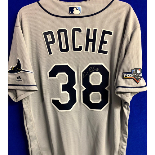 Photo of Team Issued Postseason Autographed Jersey: Colin Poche