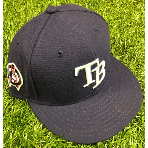 Photo of Game Used Cap: Cole Sulser (1.0IP, 2 SO) - Rookie Season - September 11, 2019 at TEX
