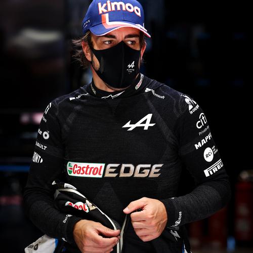 Photo of Fernando Alonso 2021 Race Used Nomex - British GP