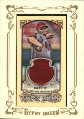 Photo of 2014 Topps Gypsy Queen Framed Mini Relics #GMRWM Wade Miley