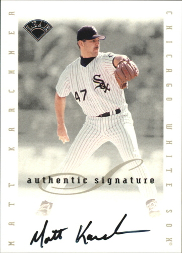 Photo of 1996 Leaf Signature Extended Autographs #96 Matt Karchner