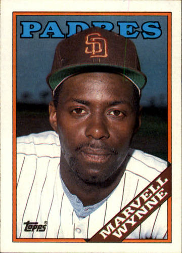 Photo of 1988 Topps #454 Marvell Wynne