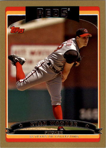 Photo of 2006 Topps Gold #526 Ryan Wagner