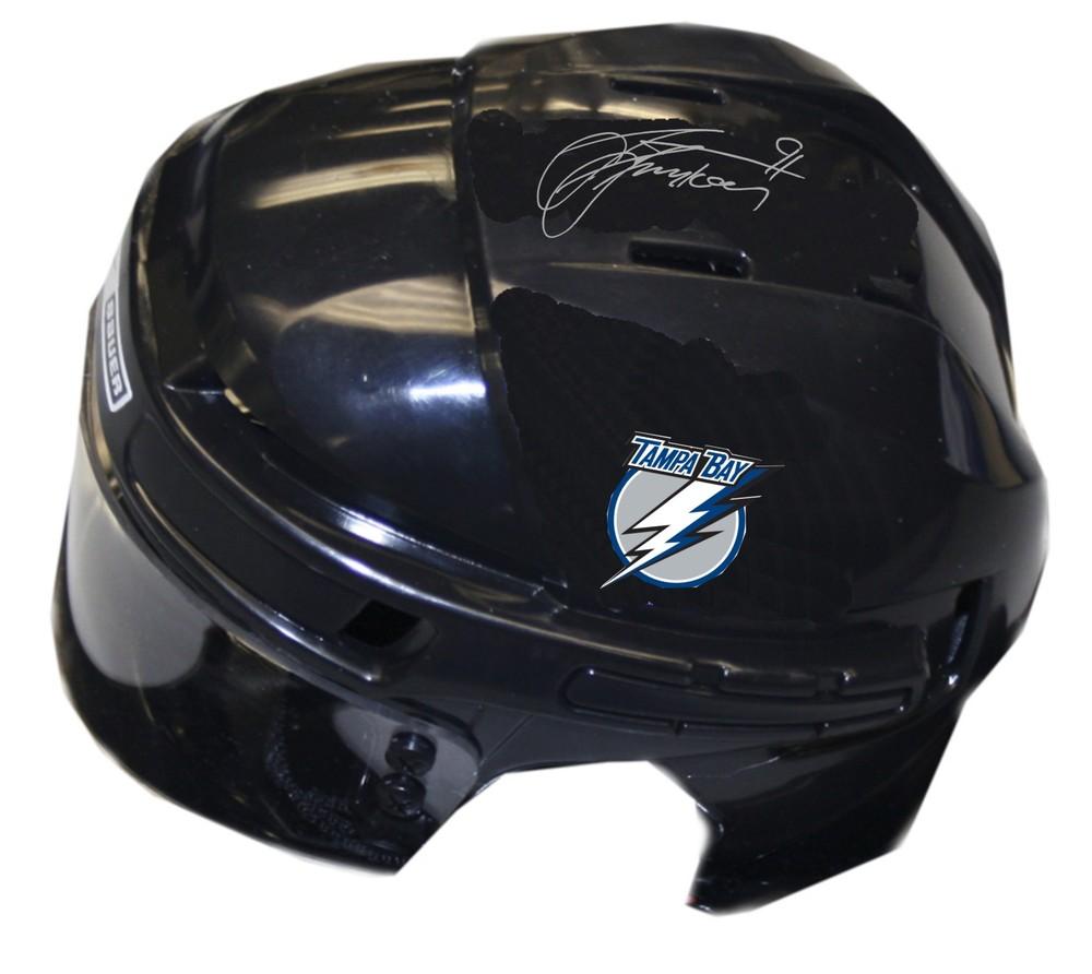 Steven Stamkos Signed Lightning Mini-Helmet