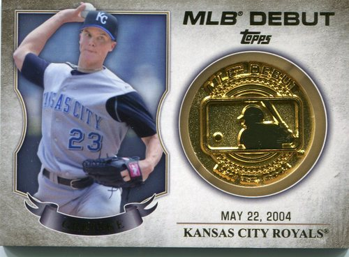 Photo of 2016 Topps MLB Debut Medallion Zack Greinke