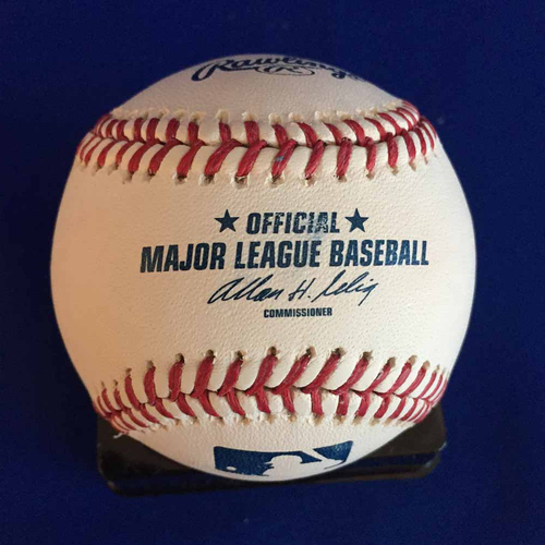 Photo of UMPS CARE AUCTION: Ron Blomberg Signed Baseball - Not MLB Authenticated