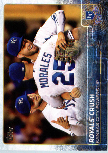 Photo of 2015 Topps Update #US191 Royals Crush/Eric Hosmer/Kendrys Morales/Mike Moustakas