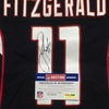 Crucial Catch - Cardinals Larry Fitzgerald signed and game issued Cardinals jersey (October 15, 2017) Size 38