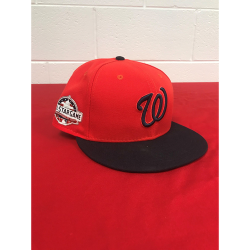 Photo of Trea Turner Game-Used 2018 Player's Weekend Cap with All Star Game Patch