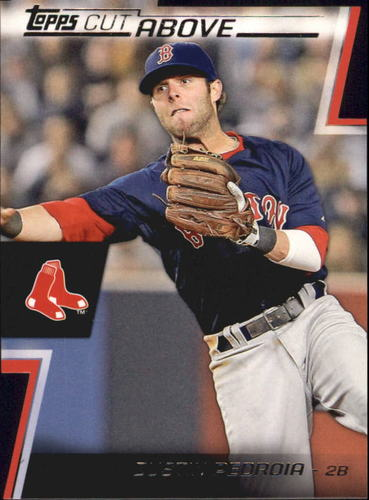 Photo of 2012 Topps A Cut Above #ACA7 Dustin Pedroia