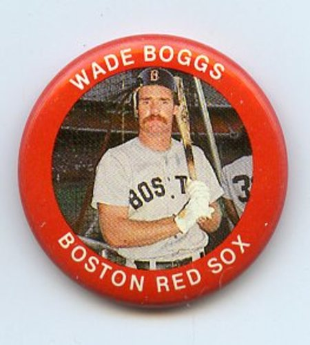 Photo of 1984 Fun Foods Pins #43 Wade Boggs