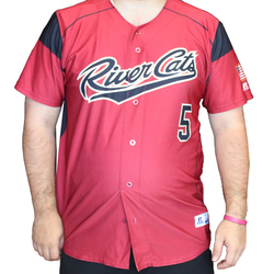 Photo of 2018 CARDINAL JERSEY #5 - MIGUEL GOMEZ - L