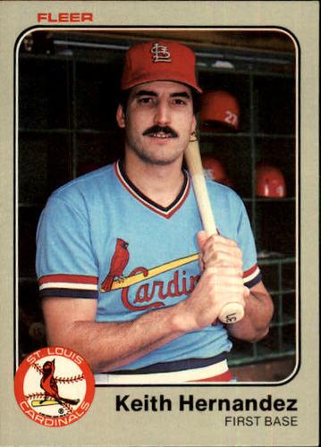 Photo of 1983 Fleer #8 Keith Hernandez