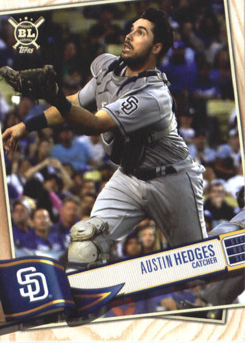 Photo of 2019 Topps Big League #3 Austin Hedges