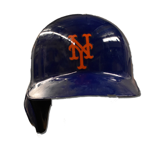 Photo of Jeff McNeil #6 - Game Used Batting Helmet - McNeil Goes 2-5 - Mets vs. Marlins - 9/24/19