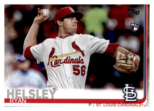 Photo of 2019 Topps Update #US248 Ryan Helsley RC