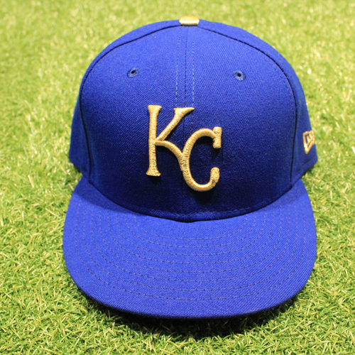 Photo of Game-Used 2020 Gold Hat: Pedro Grifol #6 (Size 7 3/8 - DET @ KC 9/25/20)
