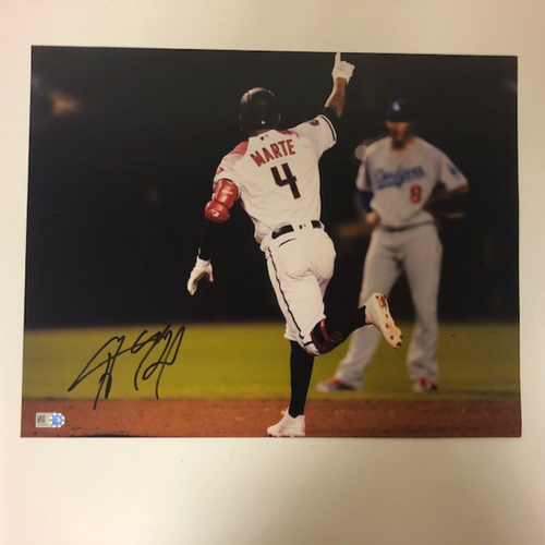 Photo of Ketel Marte Autographed 11x14 Photo