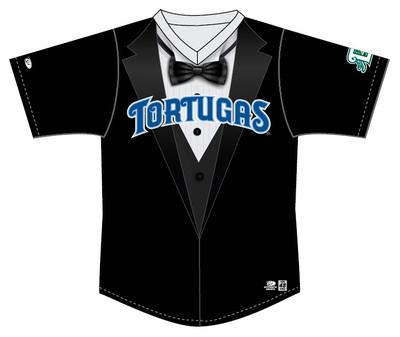 Daytona Tortugas Tuxedo Jersey #1 - Size 44 - Worn by Austin Hendrick