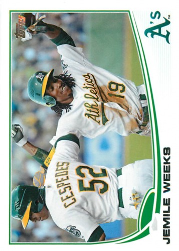 Photo of 2013 Topps #23 Jemile Weeks