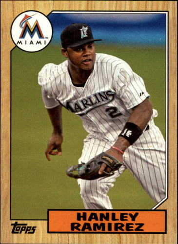 Photo of 2012 Topps 1987 Topps Minis #TM25 Hanley Ramirez