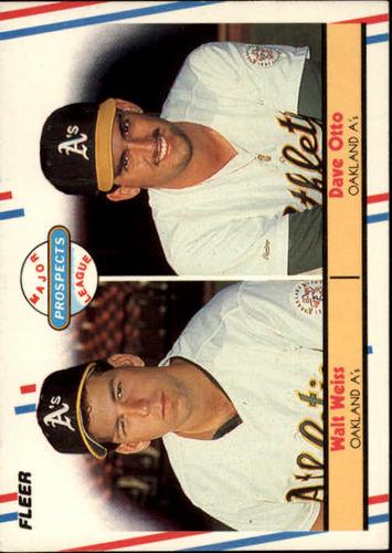 Photo of 1988 Fleer #652 Dave Otto/Walt Weiss RC