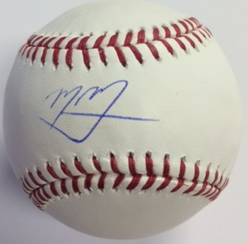 Photo of Manny Machado Autographed Baseball