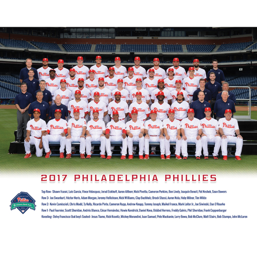 Photo of You and a Friend Included in the 2018 Phillies Team Photo